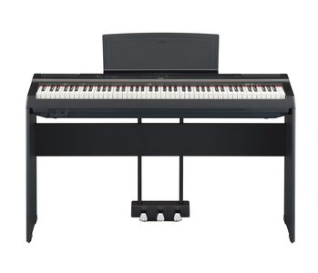 Yamaha P 125B/WH Digitale Piano met L 125 Standaard en LP 1 Pedalenconsole