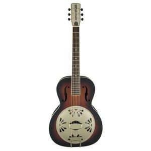 Gretsch G9241 Alligator Biscuit R neck resonator gitaar